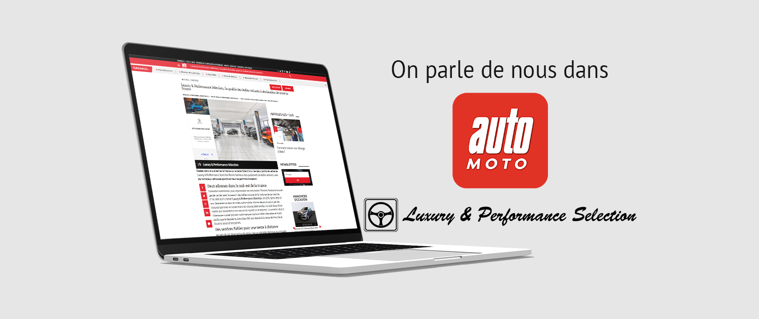 Article auto moto - Luxury & Performance Selection